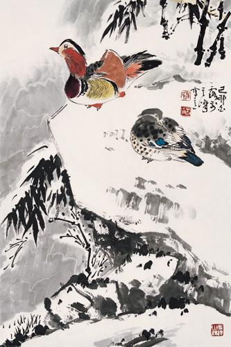 枫叶意象设计素描